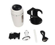 Ularma Casa de auto Mini USB humidificador purificador ambientador (blanco)