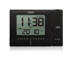 Oregon Scientific RM 336 PES reloj proyector solar, color negro