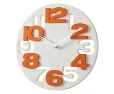 3 D con diseño moderno reloj de pared de cocina baduhr oficina reloj de la decoración tranquila 8808
