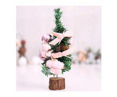 WUFANGFF 2019 Fiesta De Año Nuevo De Navidad Regalos Mini Ornamentos para El Árbol De Navidad Artificial Artesanal PVC Bricolaje Decoración Temática De Navidad(26Cm),B