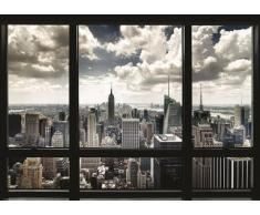 New York - Window Poster (99,06 x 139,70 cm)