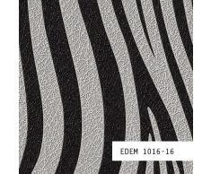MUESTRA de papel pintado EDEM serie 1016   patrón a rayas de cebra, 1016-XX:S-1016-16