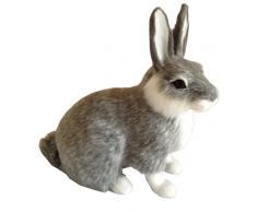 Conejo de Pascua conejo de peluche, conejo animales figura decorativa de Pascua conejo