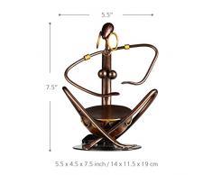 Tooarts - Tribu de música,estilo metálico (escultura de hierro,color marrón)