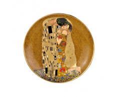 Goebel 66488602 - Plato decorativo, diseño de El beso de Gustav Klimt
