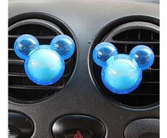 Fragancia suave del difusor del perfume del respiradero del aire del ambientador de aire del coche de 2PCS