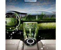 Purificador de aire para el coche Venstar, ionizador, HEPA fotocatalítico, filtro de aire, purificador de aire iónico, ambientador, con adaptador de 5 V DC (negro)