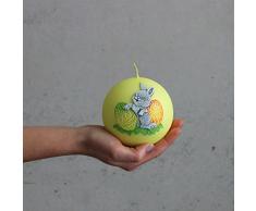 Vela bola Pascua Conejo 100 mm de diámetro Oster Vela