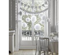 Talking Tables S-AIR-PCHAIN - Mantel para fiestas, color blanco