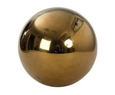 Bola Decorativa Decoración de jardín Bola de jardín oro de acero inoxidable Diámetro 25 cm