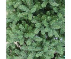 Abeto decorativo LONDON SPEED, verde oscuro, soporte metálico, 230 cm, Ø 145 cm - Árbol artificial / Árbol de navidad sintético - artplants