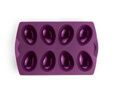 Tupperware – Molde de silicona para cocer huevos de Pascua morado silicona glaseado moldes