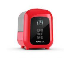 Klarstein Sevilla humidificador (4,5 L, ionizador, ambientador, bajo consumo, sin vapor caliente) - rojo