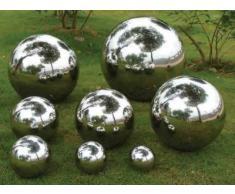 Bola de acero inoxidable 25 cm Bola de Jardín Decorativa Bola Acero Inoxidable 1 pieza