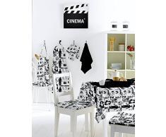 MANTEL ANTIMANCHAS REDONDO 180 cm CINEMA
