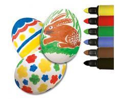 Heitmann Huevos Colores 60008 – malstifte para pintar de Pascua, juego de 6