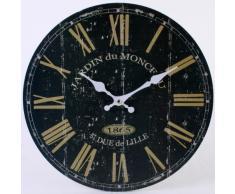 Reloj de pared France estilo retro rústico