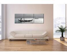 Cuadro sobre lienzo - 150x50 cm - Impresión en lienzo - 3 piezas - de varias partes - listo para colgar - en un marco - Foto número 2669 - CA150x50-2669