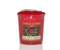 Yankee Candle - Juego de 6 velas perfumadas, diseño de caja de Navidad con lazo de satén, color dorado