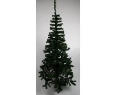 Navidad idea: árbol de Navidad - verde pino con trípode casquillo - H 210 cm