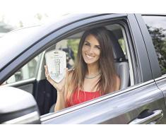 Mejor purificador de aire del coche, ambientador de aire del coche, ionizador, purificador de aire iónico | Elimina el polen, el humo, el mal olor y los olores - Ideal para el automóvil o RV y regalo del coche