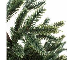 artplants - Abeto decorativo artificial MANFRED en pequeña maceta, 60 cm - Pequeño arbolito navideño / Árbol de Navidad mini