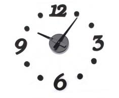 Aliciashouse Moderno diseño de interiores decoración etiqueta reloj de pared bricolaje