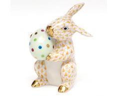 Herend conejo de Pascua figura decorativa medias de guitarra