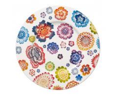 Villeroy & Boch 1044402650 - Plato llano (22 cm), diseño de flores