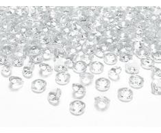 100 Deko diamantes + 25 m x 20 cm sizo flor® Fieltro Original Cinta de Mesa Camino de mesa verde color verde para cumpleaños, bodas, aniversario, Bautismo, comunión, Pascua...