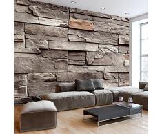 Fotomural 50x35 cm - 3 tres colores a elegir - Papel tejido-no tejido. Fotomurales Piedra Piedras óptica Muro f-B-0063-a-d