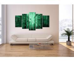 Cuadro sobre lienzo - 5 piezas - Impresión en lienzo - Ancho: 160cm, Altura: 85cm - Foto número 2290 - listo para colgar - en un marco - EA160x85-2290