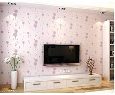Anjz @ papel pintado mural moderno decorado con rayas 3d para dormitorio salón oficina/size: 10 m (393 pulgadas) X 0,53 M (20.8pouces) = 5.3 M² (57 pies cuadrados)