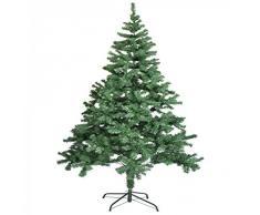 Árbol de navidad artificial 210 cm