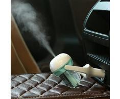 SMARTLADY Auto Mini Humidificador Coche Hidratante Spray de Aire Purificador de Aire Ambientador (Azul)