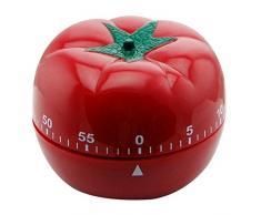 Novedad linda tomate estilo Chef vegetal mecánico temporizador utensilio de cocina cocina alarma anillo