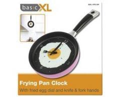 basicXL BXL-FPC10P - Reloj de pared (AA, Rosa)