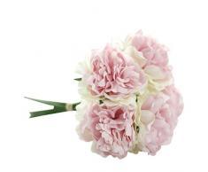 STRIR Peonías de seda artificial para ramo de novia para boda[Clase de eficiencia energética A++] (A)