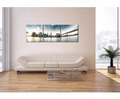 Cuadro sobre lienzo - 3 piezas - Impresión en lienzo - Ancho: 150cm, Altura: 50cm - Foto número 2430 - listo para colgar - en un marco - CA150x50-2430