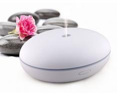 75605 Magic Shell con violeta LED-iluminación - luz LED y Aroma Difusor - lámpara aromática - ambientador