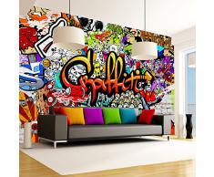 Fotomural 350x245 cm - 3 tres colores a elegir - Papel tejido-no tejido. Fotomurales - Papel pintado Graffiti f-A-0348-a-b