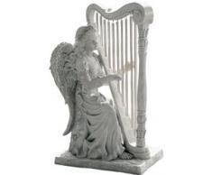 Design Toscano by Blagdon NG29970 - Figura decorativa (resina), diseño ángel tocando el arpa