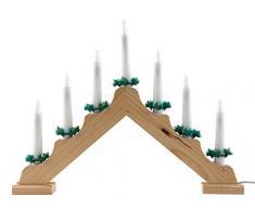Adviento candelabro/arco de luz./de Adviento con 7 luces