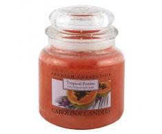 Caroline velas 425 G tropical Fusion de cristal para velas en tarro, Naranja