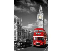 Desconocido GB eye, London, Piccadilly Bus and Taxi, Maxi Poster, 61x91.5cm