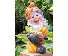 Siete Enano enano Diseño-6 37 cm 50003-6 Jardín Figuras De Jardín Decoración