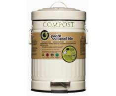 Kitchen Craft - Papelera a pedal para compost (3 L)