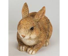 Formano Fröhlicher Decoración Conejo Pascua Conejo Figura decorativa naturfaben acuosa, 17 cm