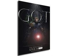 Instabuy Poster - TV Series - Game of Thrones - Juego de Tronos - Tyrion Lannister D A4 30x21