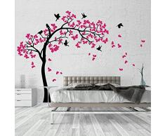 01381 Pegatina Adhesivo Vinilo Decorativo Pared Wall Art Arbol - Verano árbol - 170x170 cm